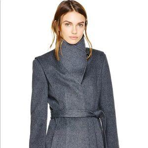 Aritzia Babaton Spencer Wool Coat (Grey)